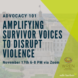 Advocacy 101: Amplifying Survivor Voices to Disrupt Violence