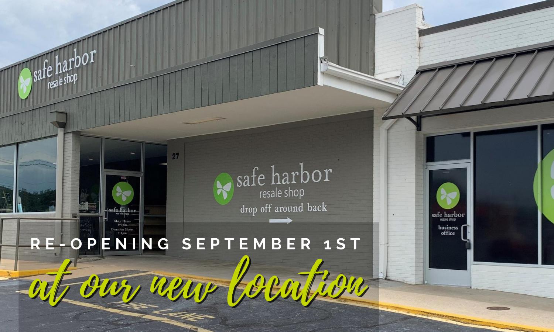 Safe Harbor Resale Shop  Has MovEd
