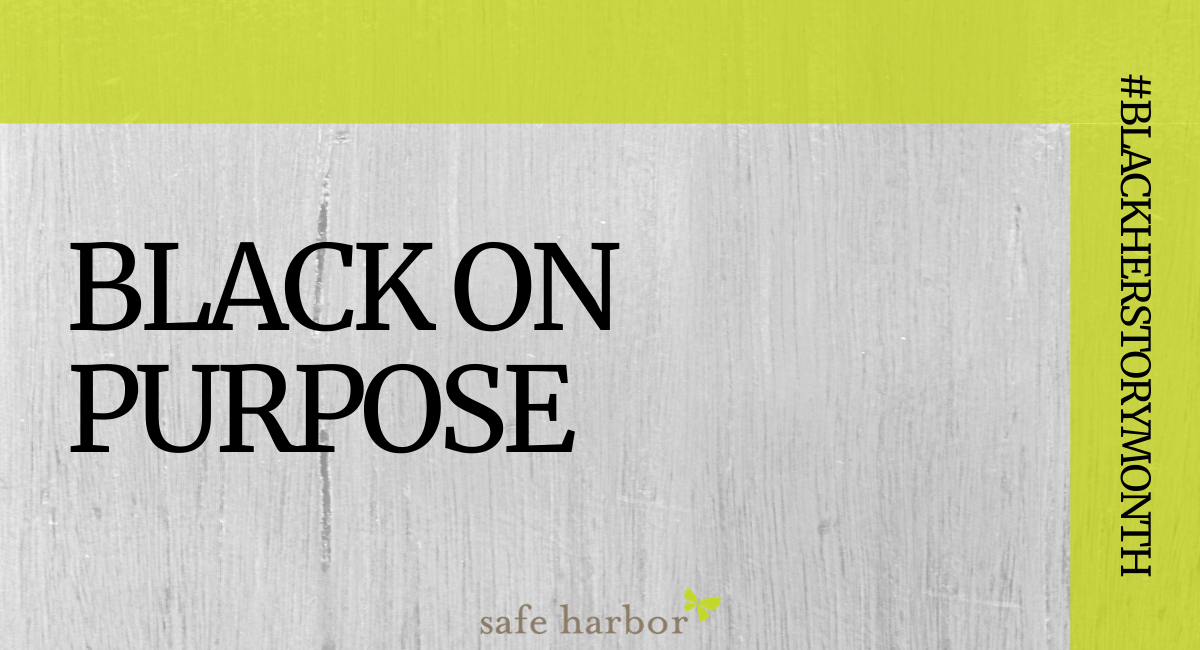 Black on Purpose by KiSha Donaldson