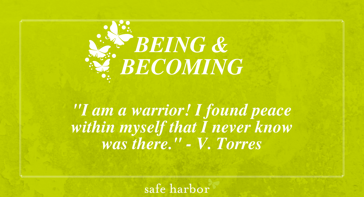 Being and Becoming by V. Torres