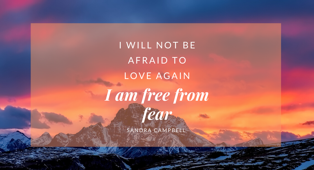 I Am Free From Fear by Sandra Campbell