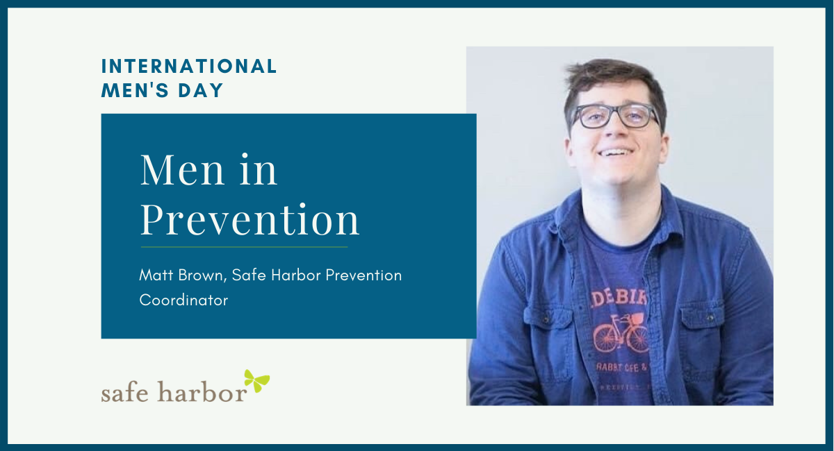 Men in Prevention by Matt Brown