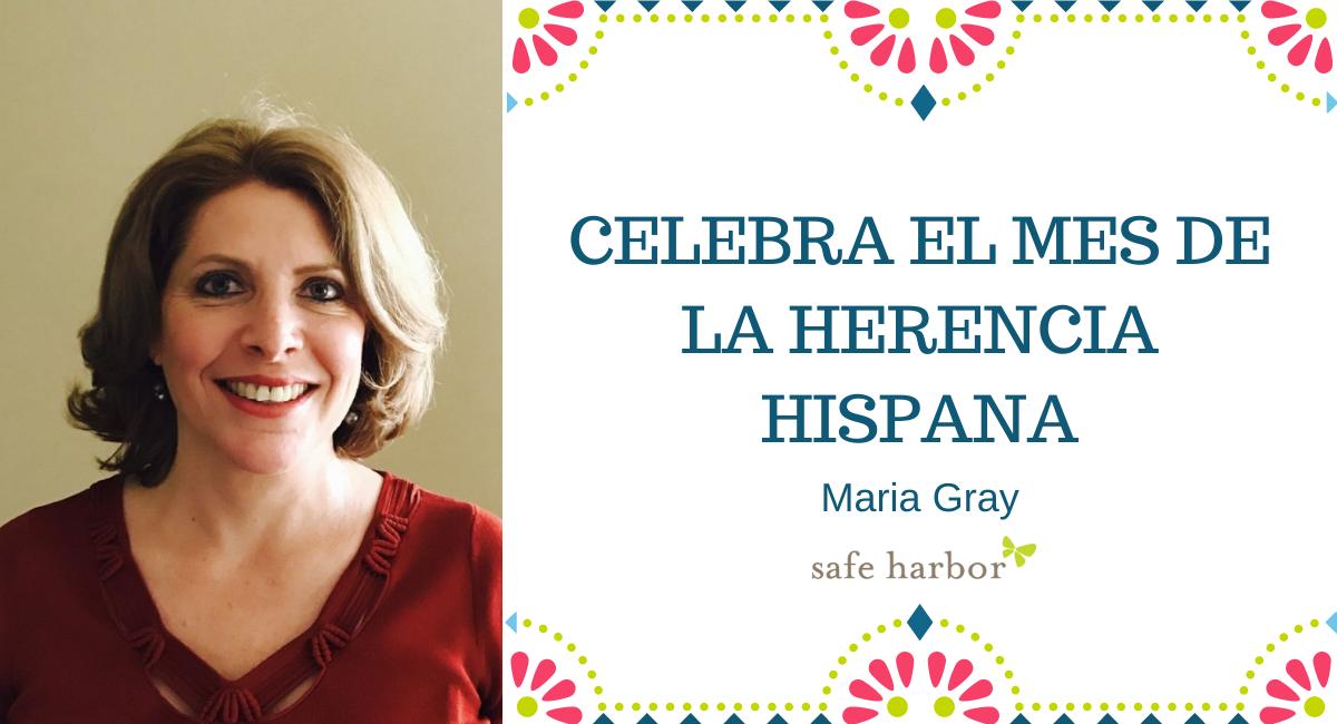 Celebra el mes de la herencia hispana con Maria Gray